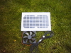 "HIPOWER SOLAR PANEL AND 12CM FAN KIT FOR VENTILATION""B GRADE"""